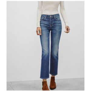 """NWT Aritzia """"The Castings"""" High Rise Cropped Jeans"""